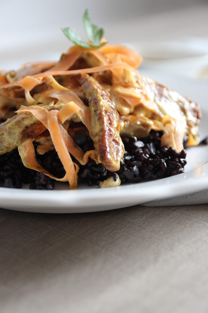 tempeh w black rice 093