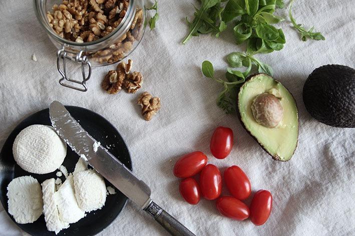 avocado and goat cheese salad 007BLOG