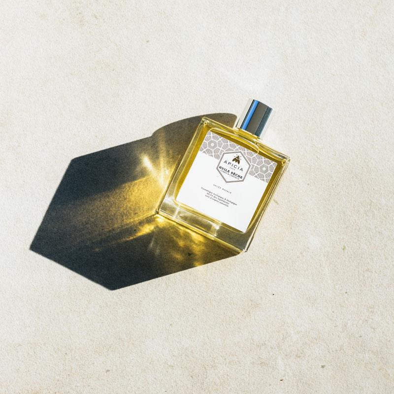 huile sèche beauté bio corps et cheveux