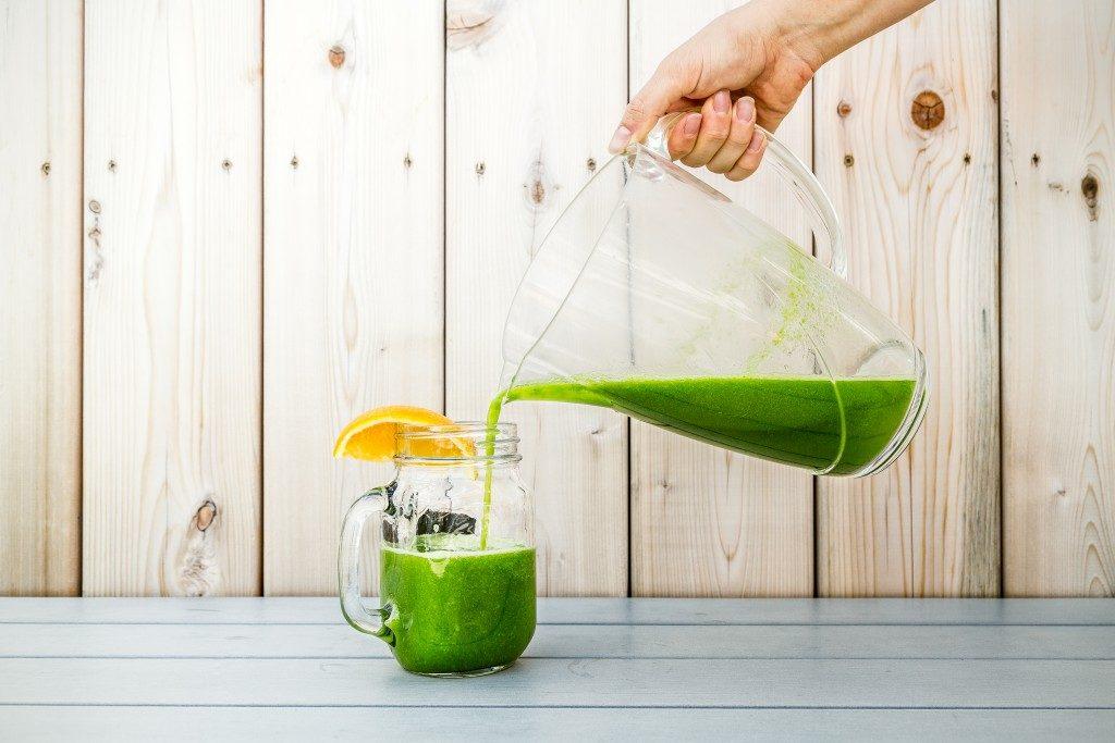 préparer un jus frais