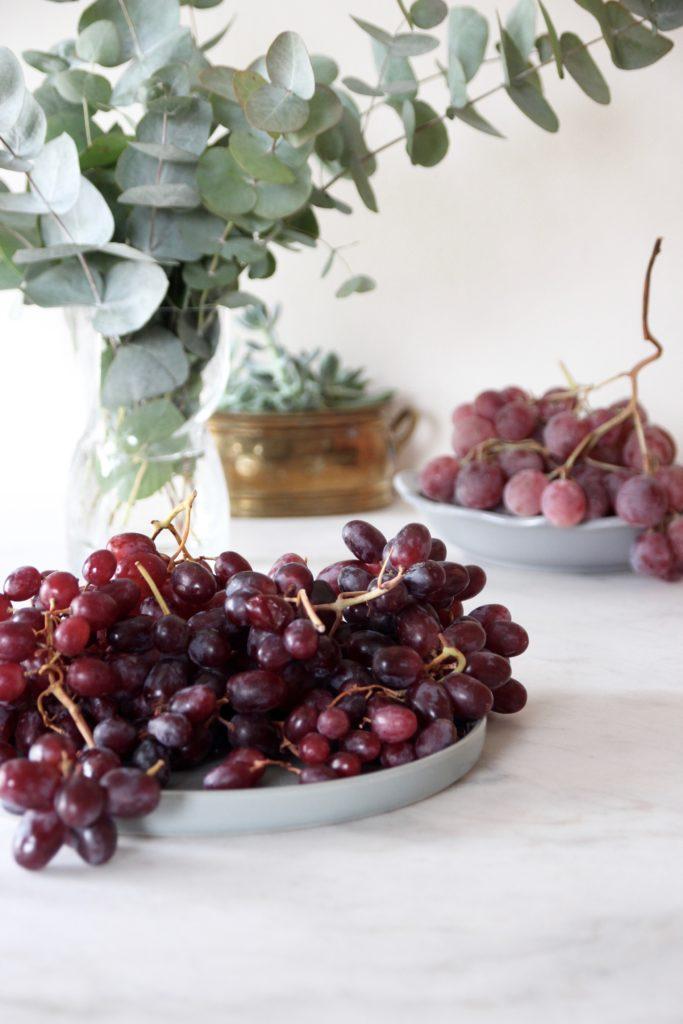 Faire une cure de raisin au changement de saison