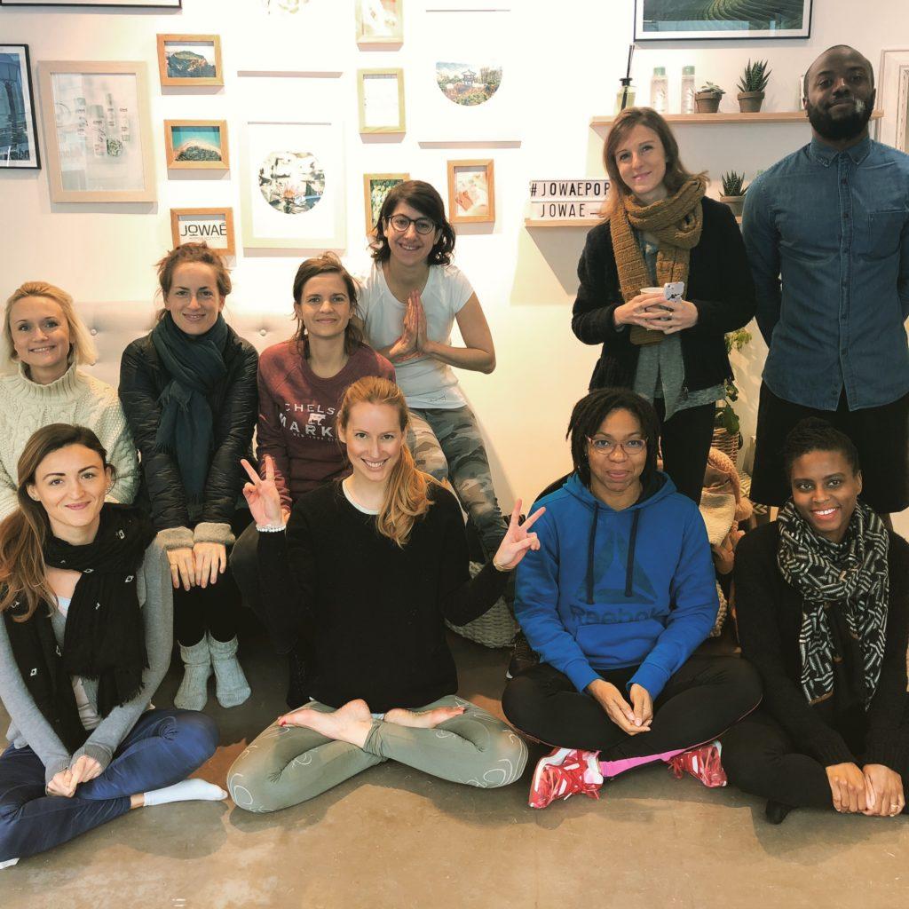 atelier yoga sparkleinspire Nadine Andreewitch