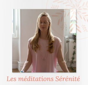 Méditations sérénité Nadine Andreewitch