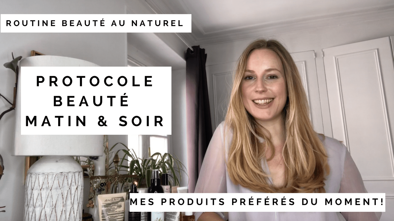 Nadine Andreewitch routine beauté visage