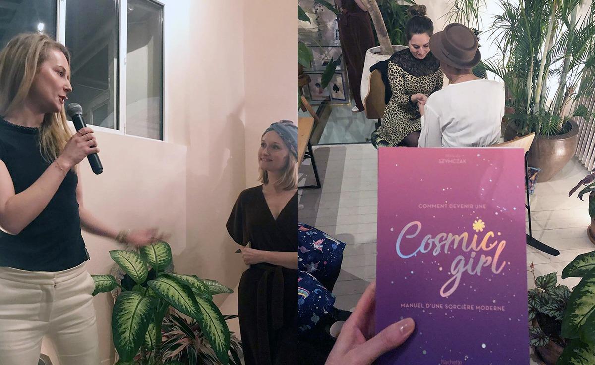 lancement du livre Cosmic girl de Mélodie Szymczak à la Villa Rose Avril 2019