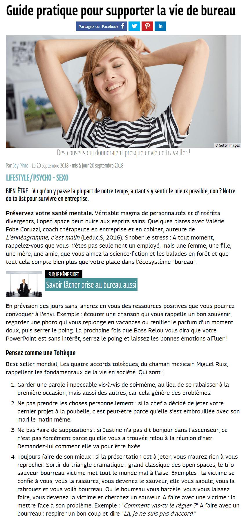 Grazia.fr Septembre 2018