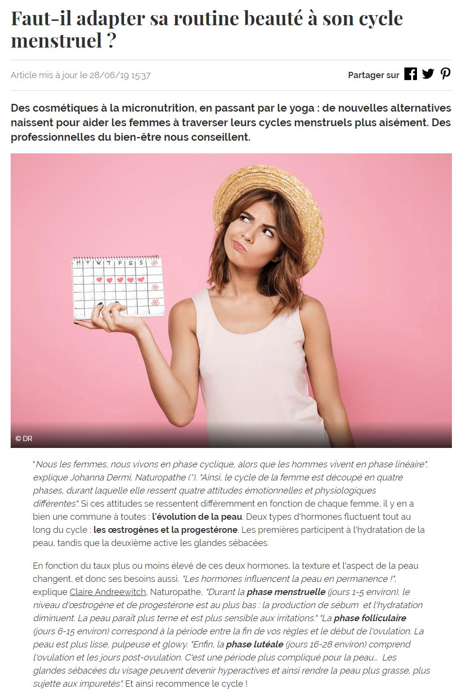 journaldesfemmes.fr juin 2019